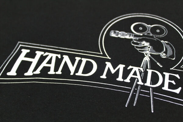 Hand Made Films Tour Tee front close-up