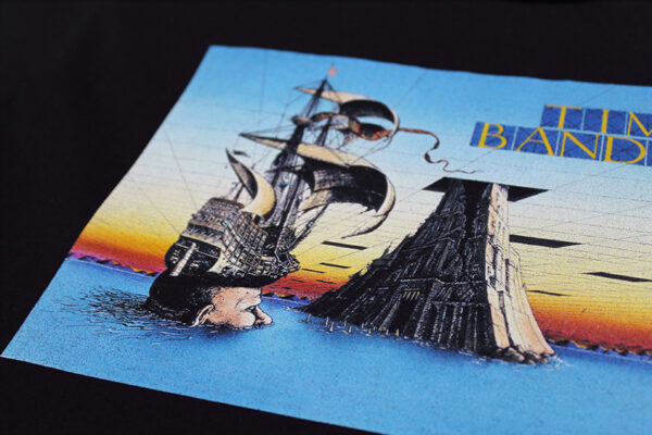 Time Bandits Tee close-up