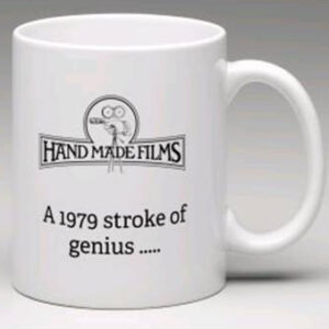 Handmade Films Mug Logo and Stroke of Genius